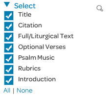 download portion, psalm element